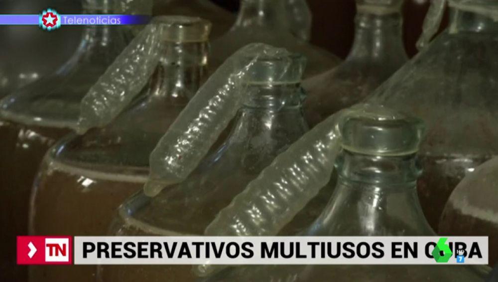 Los preservativos tienen innumerables usos en Cuba