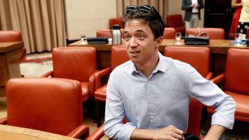 El candidato de 'Más Madrid' a la Comunidad de Madrid, Íñigo Errejón