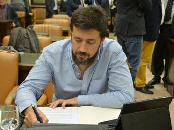 Antón Gómez-Reino, portavoz de En Marea