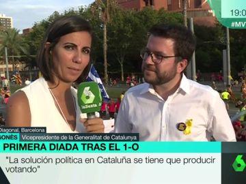 """Peré Aragonés: """"El independentismo es diverso. Hablamos de construir la república catalana para todos"""""""