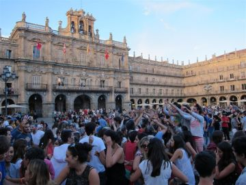 Novatadas en Salamanca