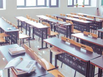 Imagen de un aula escolar.