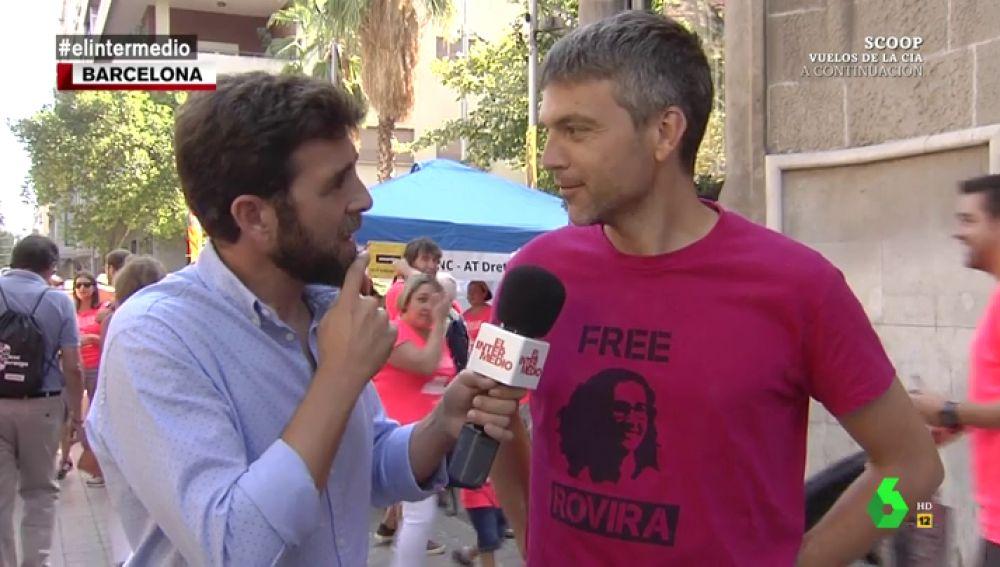 Gonzo se desplaza a Barcelona para vivir la Diada