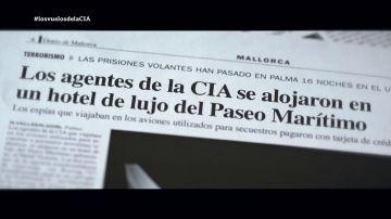 Mamen Mendizábal habla con dos de los periodistas que desvelaron los vuelos secretos de la CIA