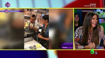 Cristina Pedroche comenta su clase de cocina con su marido Dabiz Muñoz