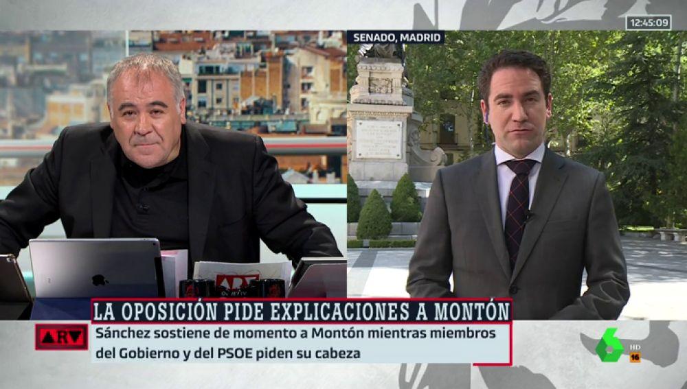 """Teodoro García Egea: """"En el caso de Casado hay gente que se empeña en hacerle la prueba del Carbono 15 a los trabajos"""""""