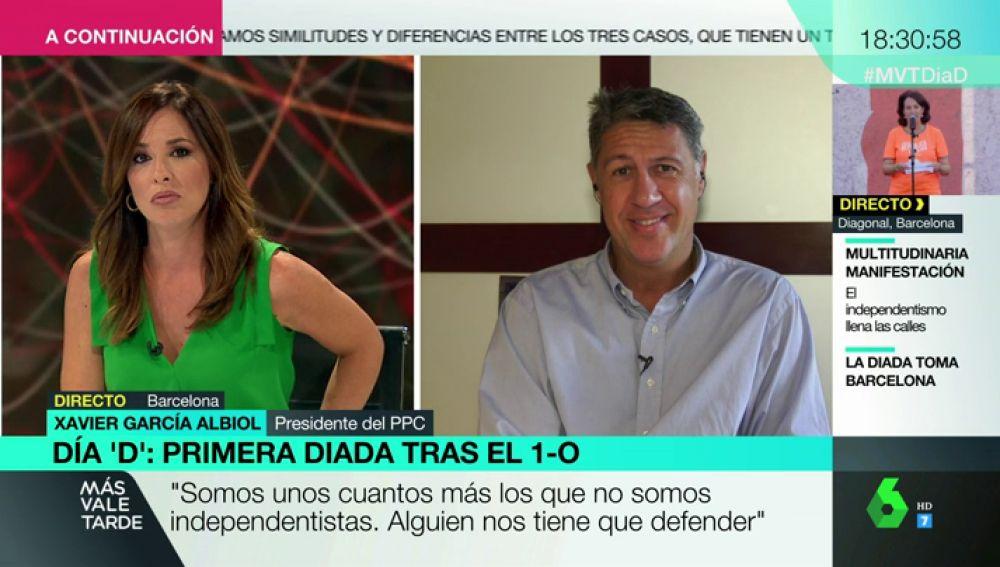 """Xavier García Albiol: """"Quien da oxígeno al independentismo es la Guardia Urbana de Colau"""""""