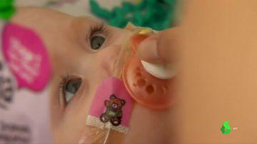 Vanellope Hope Wilkins, la niña que nació con el corazón fuera del pecho