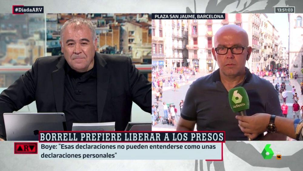 """Gonzalo Boye, sobre las declaraciones de Borrell sobre los presos catalanes: """"No pueden entenderse como algo personal porque es ministro"""""""