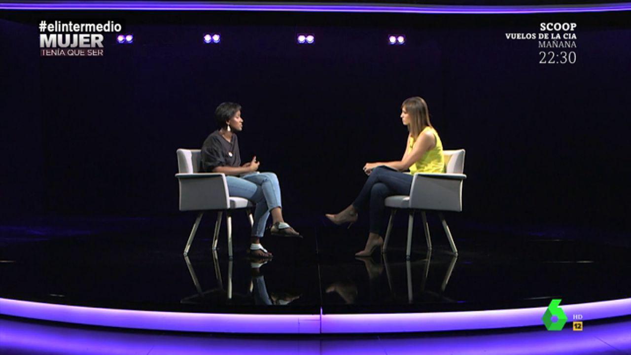 Sandra Sabatés entrevista a hayat Traspas Ismail
