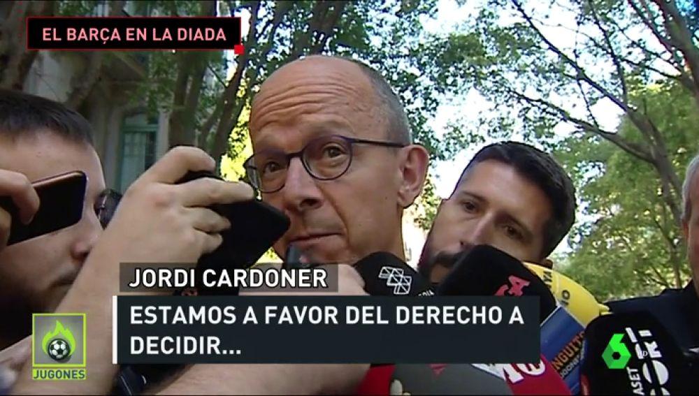 """Jordi Cardoner: """"La situación irracional que está viviendo Cataluña se tiene que solucionar a través del diálogo"""""""