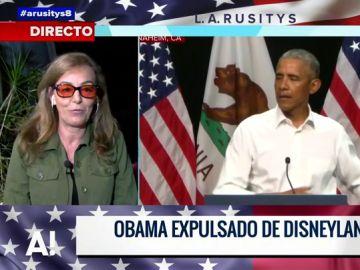 La anécdota de Obama por la que fue expulsado de Disneyland