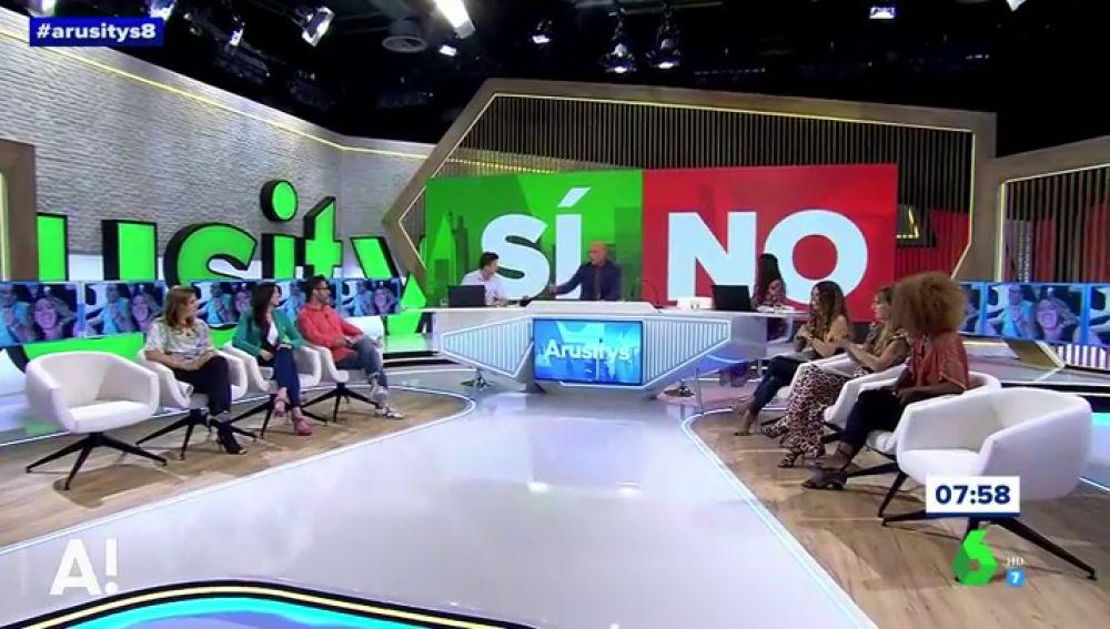 Arusitys abre debate en el plató