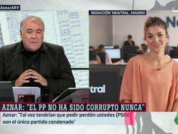 Lorena Baeza, periodista de El Objetivo