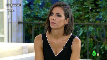 Ana Pastor durante su entrevista a Pedro Sánchez