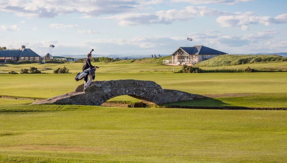 Golf. Escocia