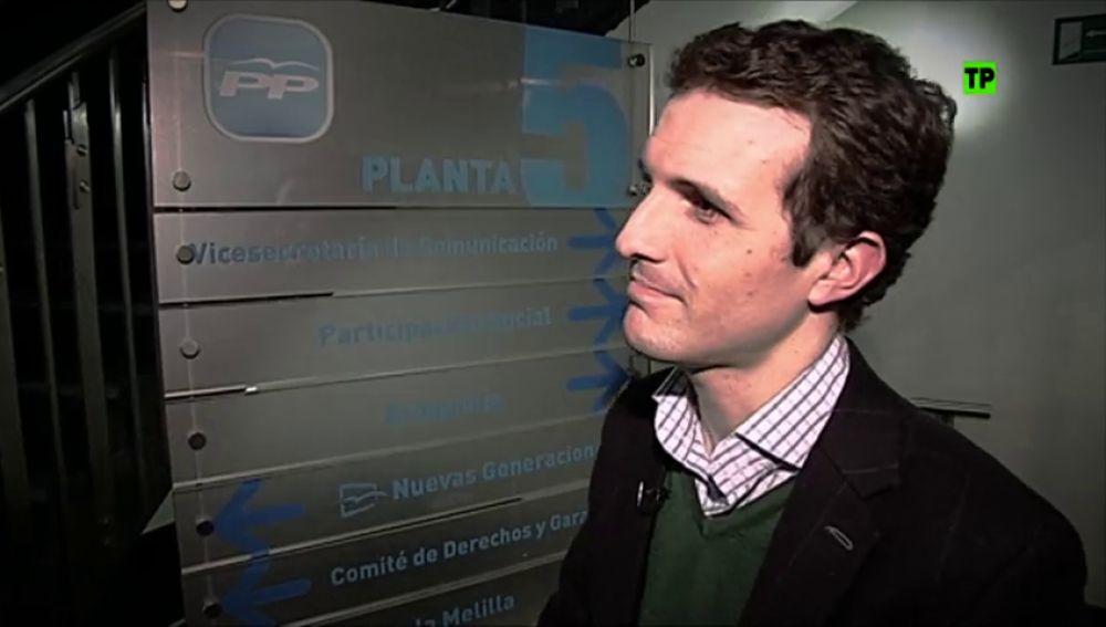 'Pablo Casado: afeitando al PP'