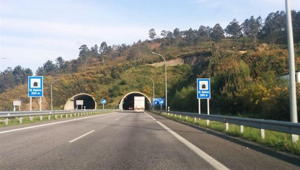 Carretera de El Berrón, donde sucedieron los hechos