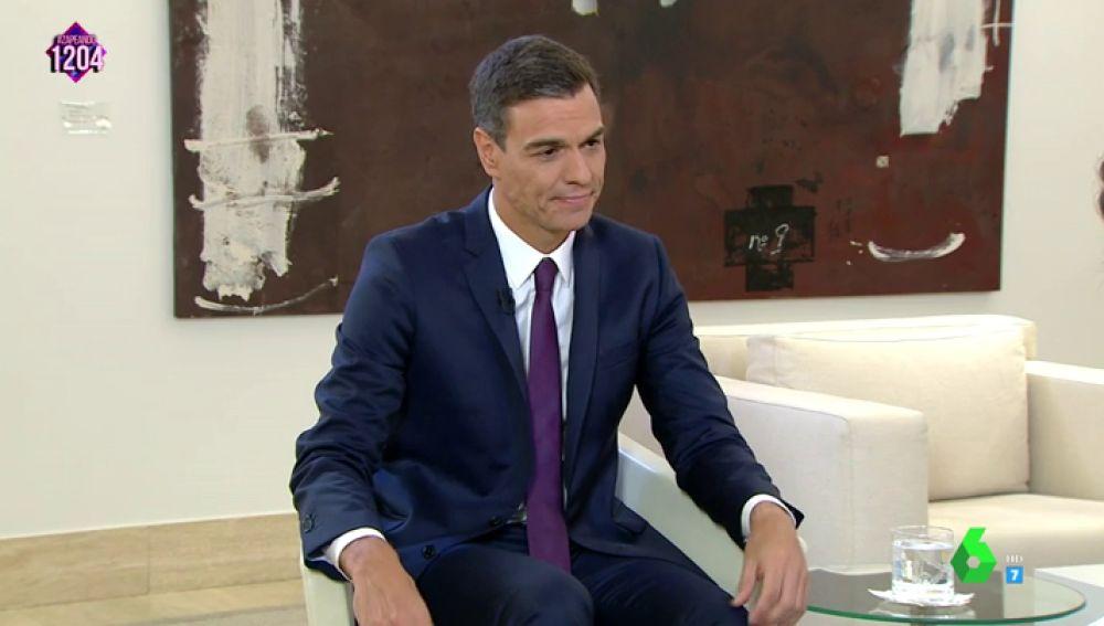 Pedro Sánchez se confiesa con Pedroche