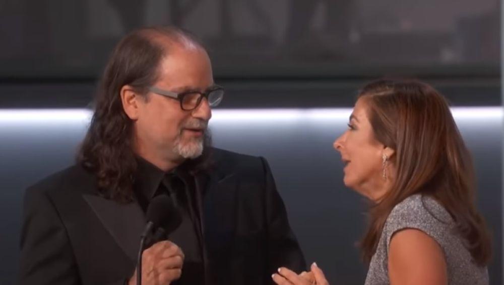 Glenn Weiss pidiendo matrimonio a su novia