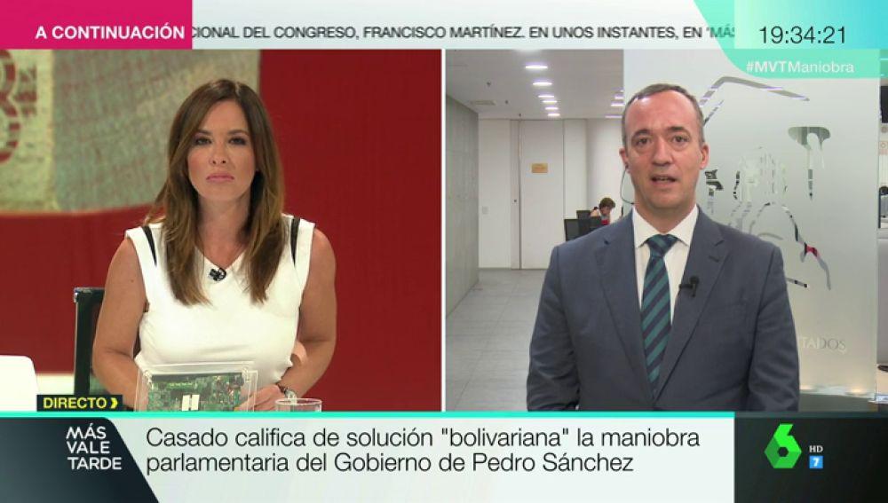 Francisco Martínez, portavoz del PP Comisión Constitucional del Congreso