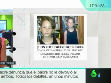 Una madre denuncia el secuestro de su hijo por parte del padre del menor