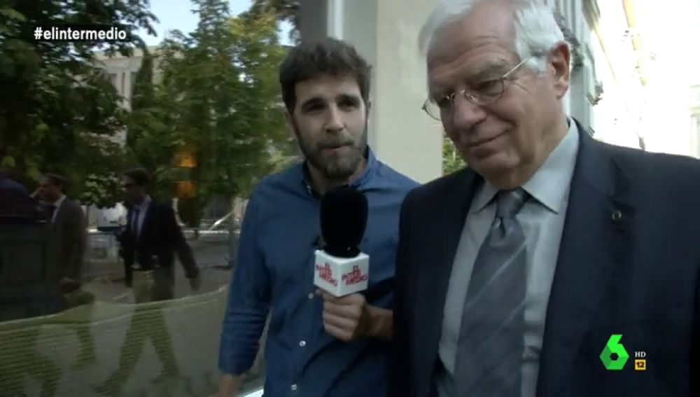Gonzo y Josep Borrell