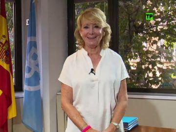 Esperanza Aguirre en laSexta Columna