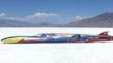 'Turbinator II', el coche más rápido del mundo