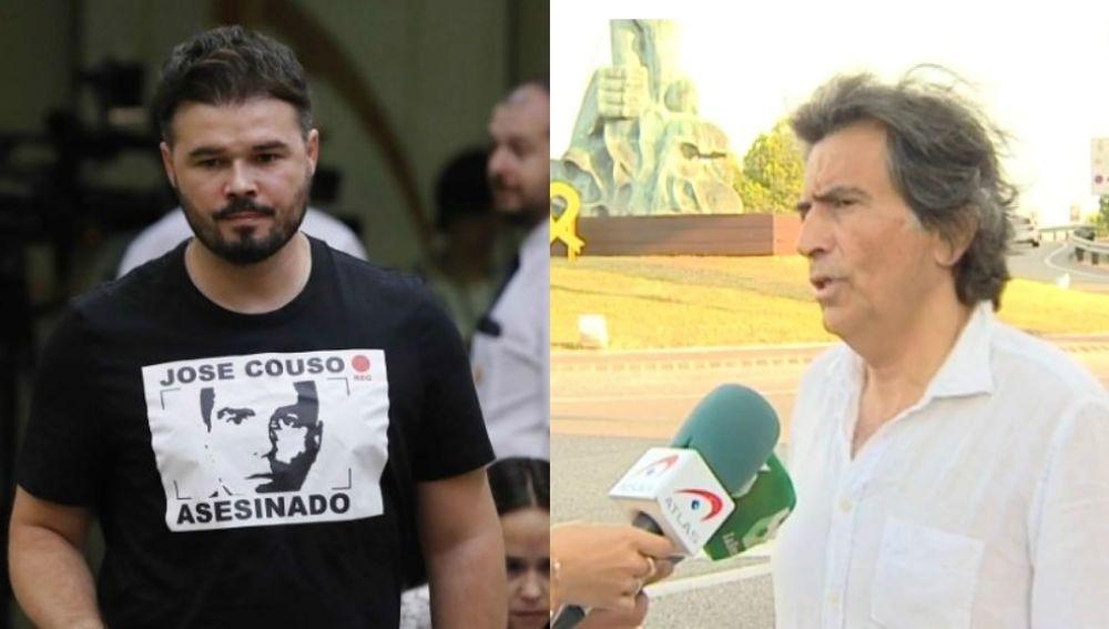 Gabriel Rufián y Arcadi Espada