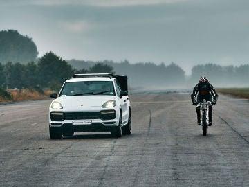 High Neil Campbell Cyclist Cayenne Turbo Porsche
