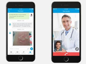 Chat médico y videoconsultas de SaludOnNet