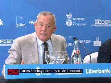 Carlos Solchaga, exministro de Economía