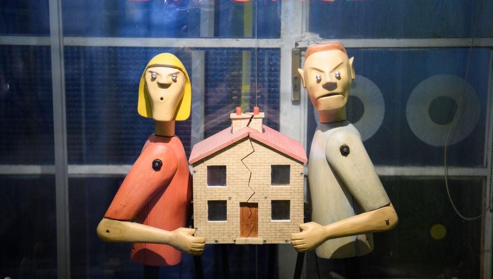 Escenificación de un divorcio