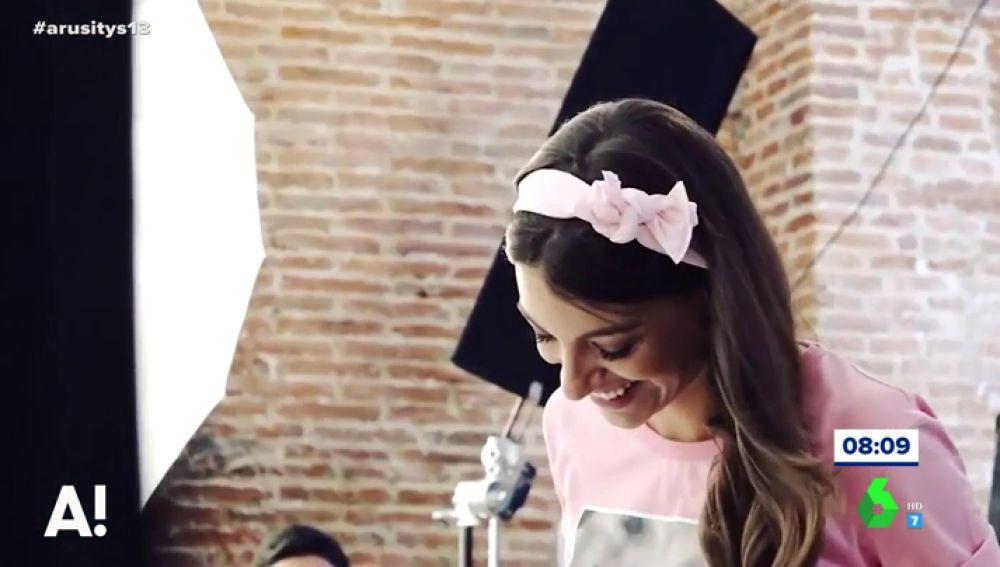La imagen más solidaria de Ana Guerra, imagen de la lucha contra el cáncer