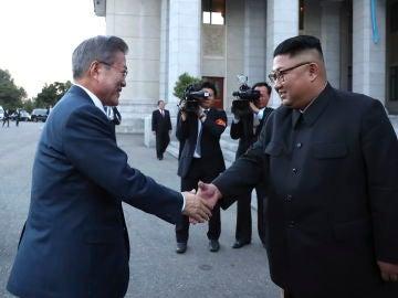 Los líderes de las dos Coreas