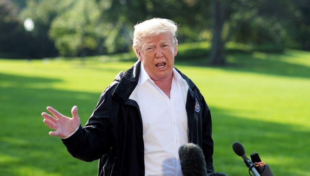 Trump en una imagen de archivo