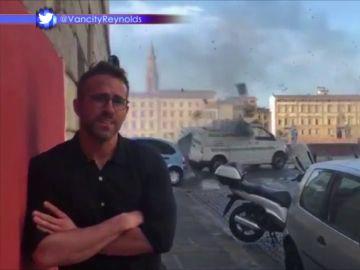 El impactante accidente de coche con el que Ryan Reynolds ni se inmuta