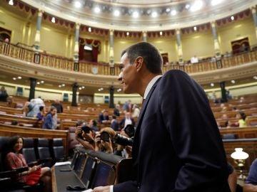 Pedro Sánchez en el Congreso en una imagen de archivo