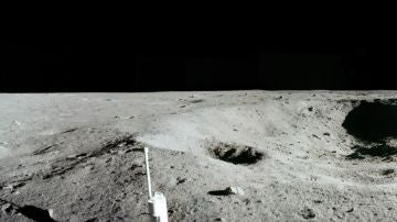 Imagen de la Luna tomada por Neil Armstrong