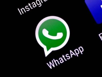 Imagen de archivo del icono de WhatsApp