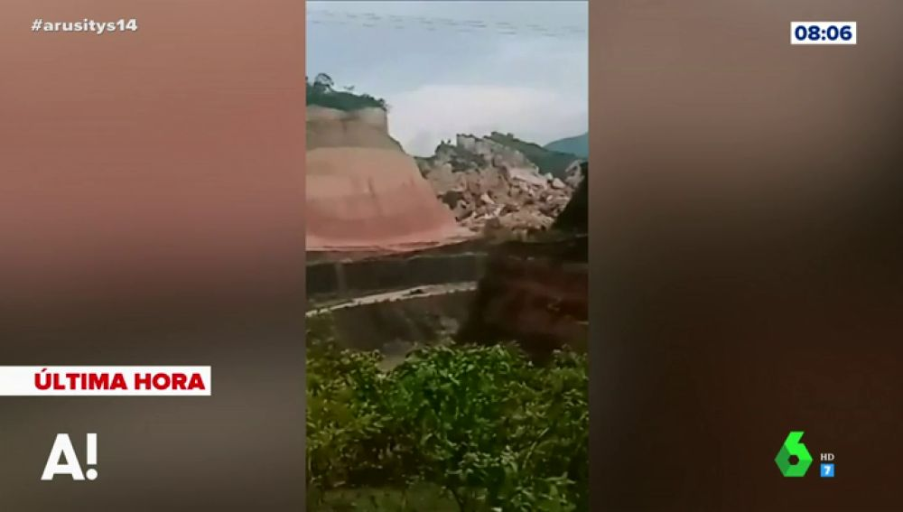 Avalancha de tierra en Filipinas
