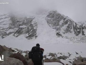 Avalancha en Pakistán