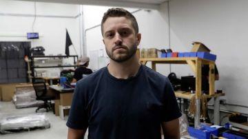 Cody Wilson, creador de las armas impresas en 3D