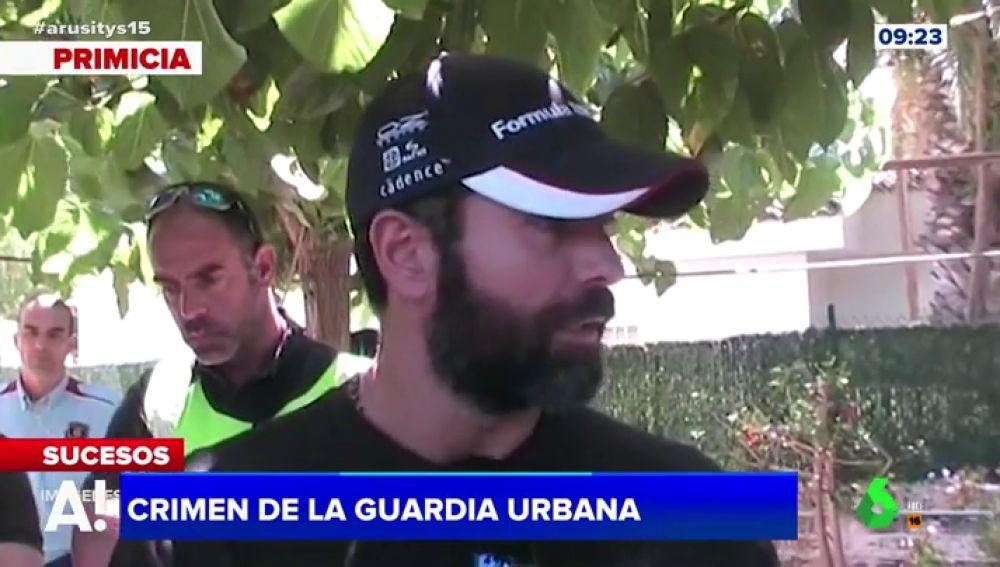 Acusado del crimen de la Guardia Urbana