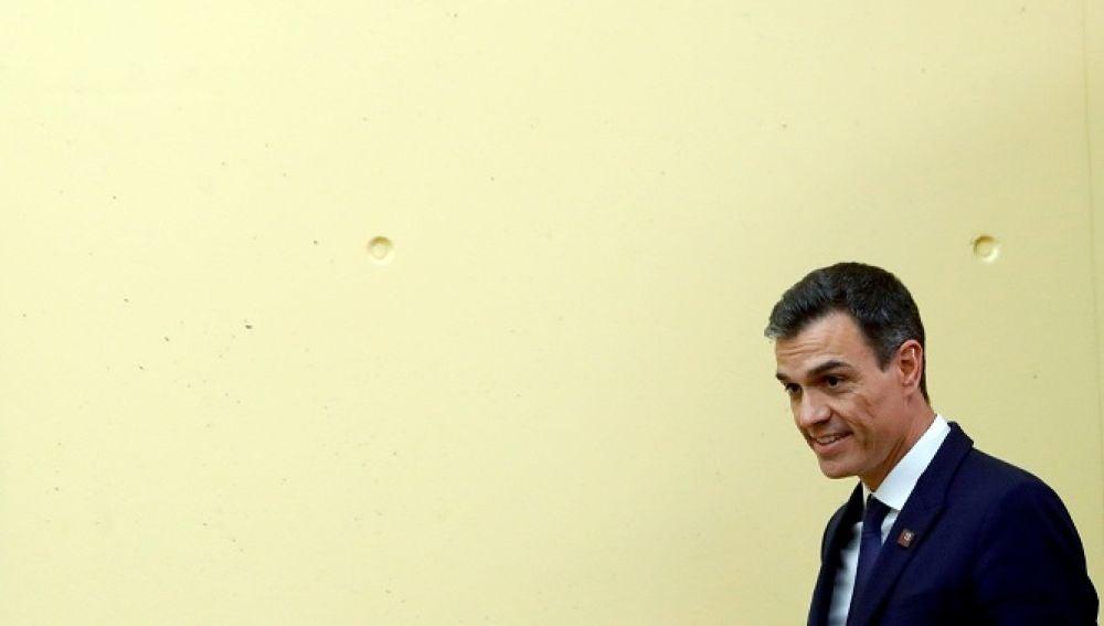 Pedro Sánchez en la cumbre informal europea de Salzburgo