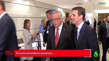 Pablo casado con Jean Claude Juncker