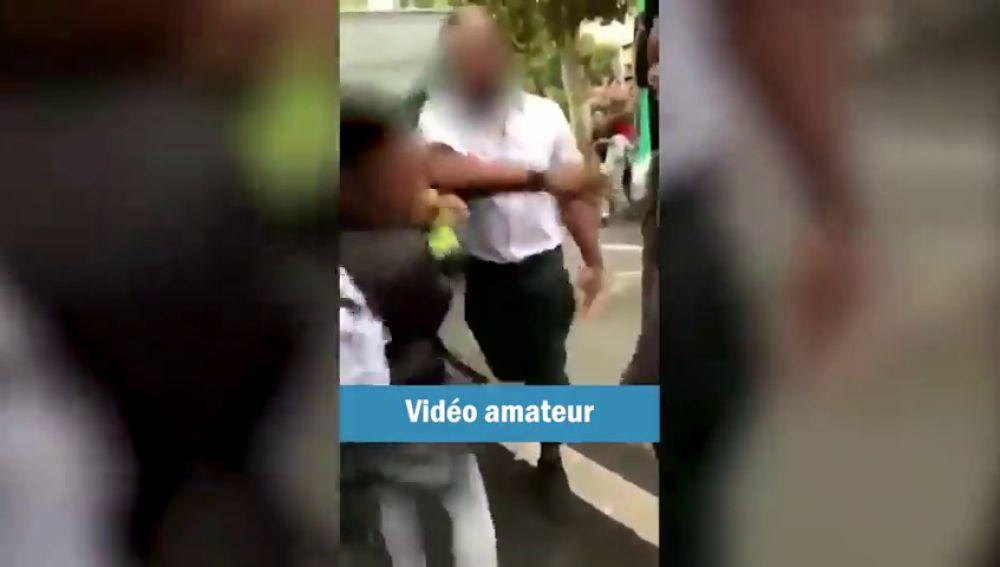 La bofetada de un chófer de autobús a un niño que cruzó sin mirar desata la polémica en Francia