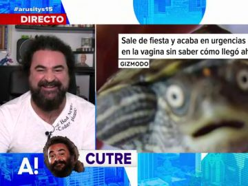 El chiste de El Sevilla sobre la chica que acaba en urgencias con una tortuga en la vagina