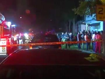 Imagen del tiroteo en Siracusa